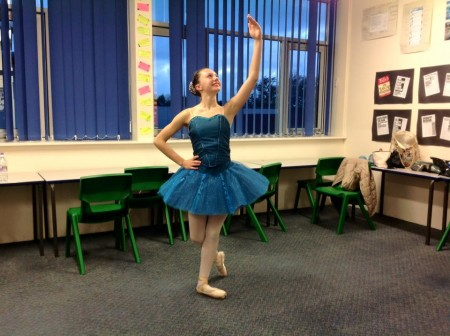 Congratulations to Olivia Sheppard who has gained a place at Elmhurst Ballet Schools Saturday extension programme commencing January 2016